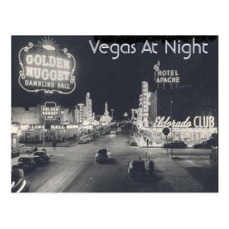 Postal Vintage Las Vegas céntrico