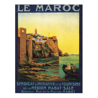 Postal Vintage Le Maroc Marruecos