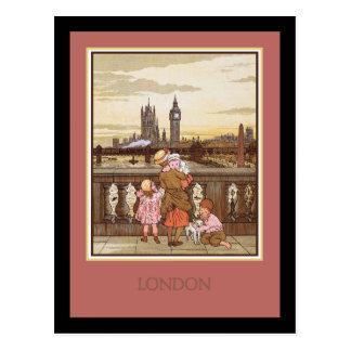 Postal Vintage Londres