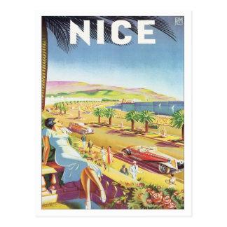 Postal Vintage Niza Francia