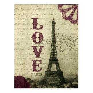 Postal Vintage París