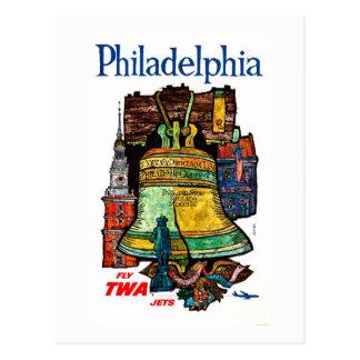 Postal Vintage Pennsylvania Philadelphia Liberty Bell