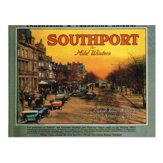 Postal Vintage, South^port, Inglaterra, poster
