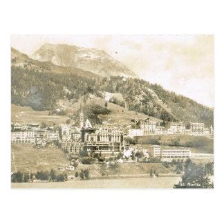 Postal Vintage, Suiza, St Moritz, 1906