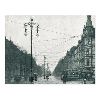 Postal Vintage, Tramlines, tranvía, viajeros, 1920