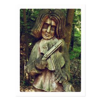 Postal Violinista