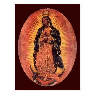 Postal Virgen de Guadalupe