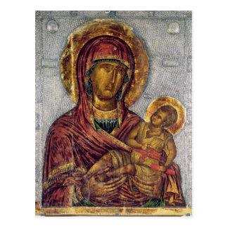 Postal Virgen y niño 3