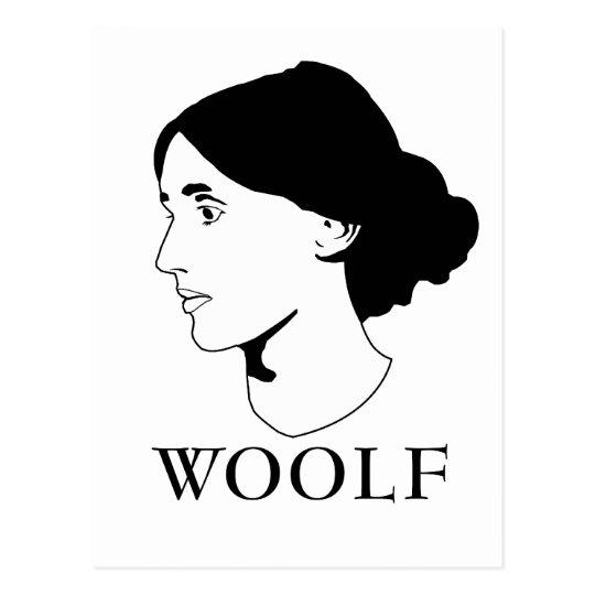 Postal Virginia Woolf