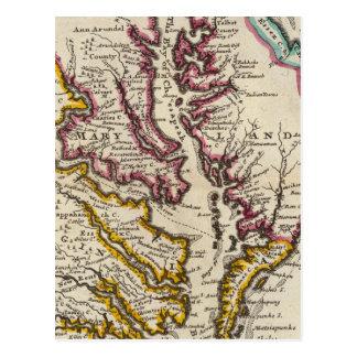 Postal Virginia y Maryland