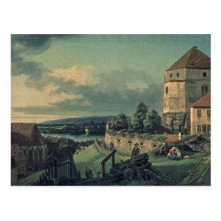 Postal Visión desde el castillo, 1753-55