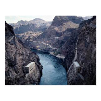 Postal Visión desde el Preso Hoover, Nevada/Arizona, los