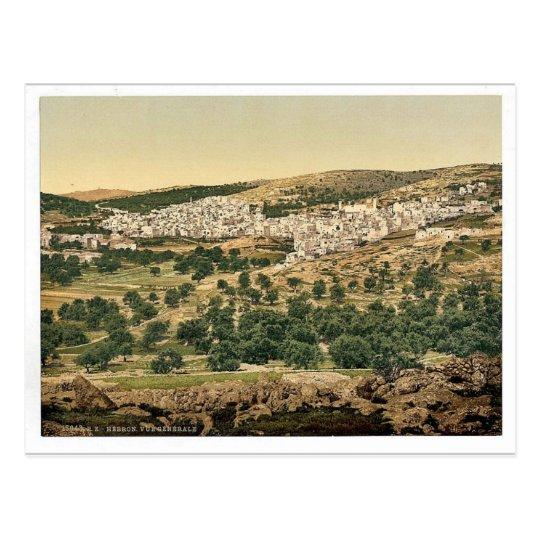 Postal Visión general, Hebrón, Tierra Santa, (es decir