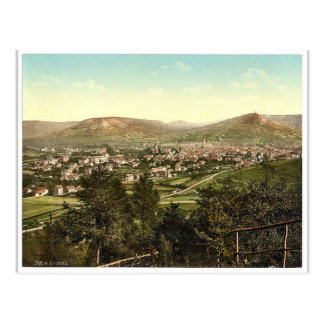Postal Visión general, Jena, Thuringia, obra clásica Pho