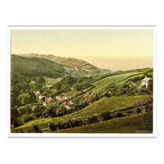 Postal Visión general, Lee (Devon), obra clásica Photoch