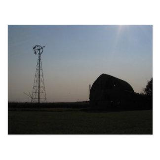 Postal Visiones de la pradera de Dakota del Sur