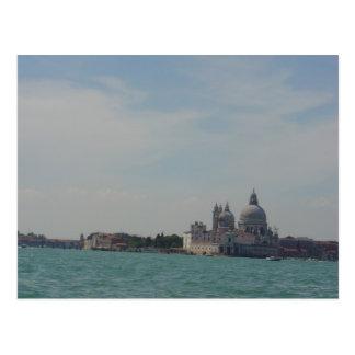 Postal Visiónes desde Canale magnífico, Venecia