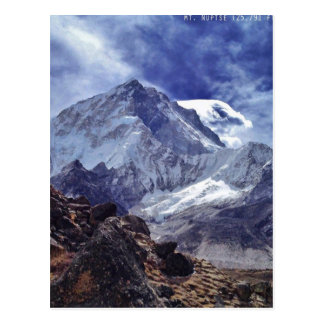 Postal Visiónes desde Nepal en manera al MONTE EVEREST