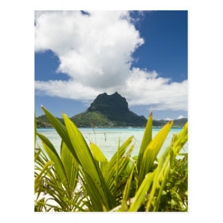 Postal Visita a la pequeña isla de la comida campestre en
