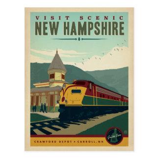 Postal Visita New Hampshire escénico