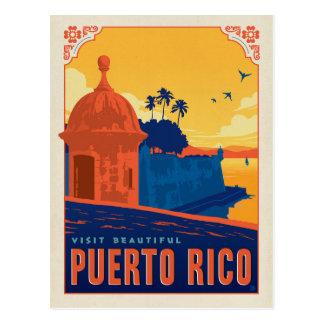 Postal Visita Puerto Rico hermoso