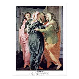 Postal Visitation de Jacopo Pontormo