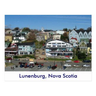 Postal Vista aérea de Lunenburg, Nueva Escocia
