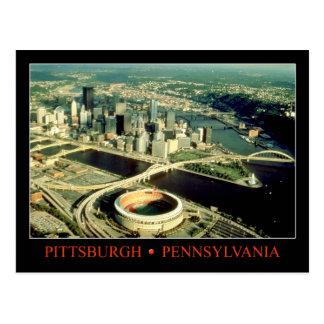 Postal Vista aérea de Pittsburgh, Pennsylvania