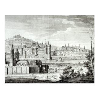 Postal Vista de la abadía de Santo-Germán-DES-Pres