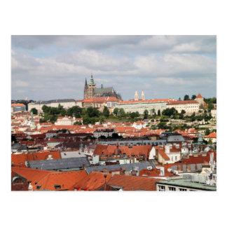 Postal Vista de la ciudad hermosa de Praga