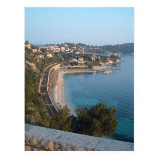 Postal Vista de la costa francesa