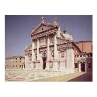 Postal Vista de la fachada, construida 1607-11