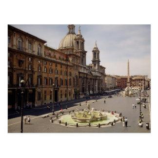 Postal Vista de la plaza