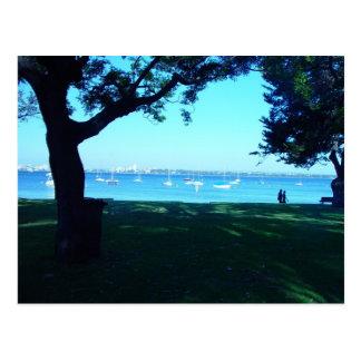Postal Vista de Perth del sur de la playa de Nedlands,