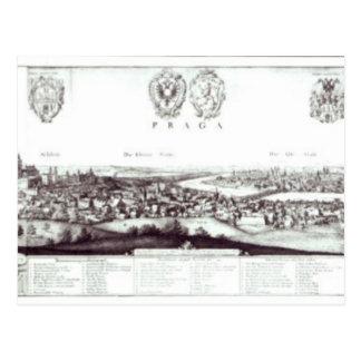 Postal Vista de Praga, 1649