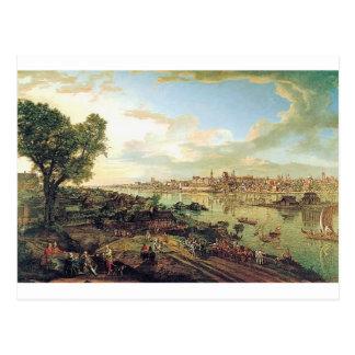 Postal Vista de Varsovia de Praga de Bernardo Bellotto