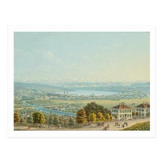 Postal Vista de Zurich, c.1840 (w/c)
