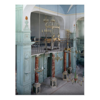 Postal Vista del interior de la Cavaillon