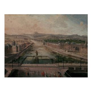 Postal Vista del lugar Dauphine y el Sena