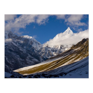 Postal Vista del soporte Jichu Drake, Bhután