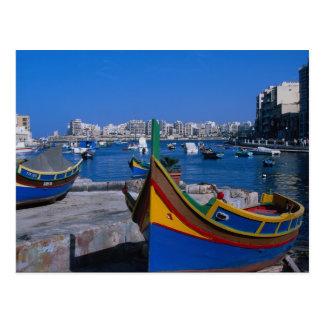 Postal Vista del St. juliana, Malta