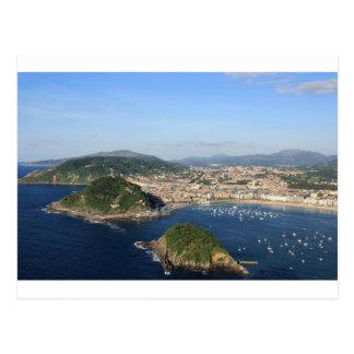 Postal Vista escénica de San Sebastián