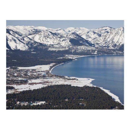 Postal Vista escénica del lago Tahoe, los E.E.U.U.