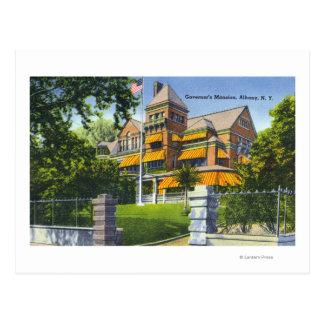 Postal Vista exterior de la mansión del gobernador