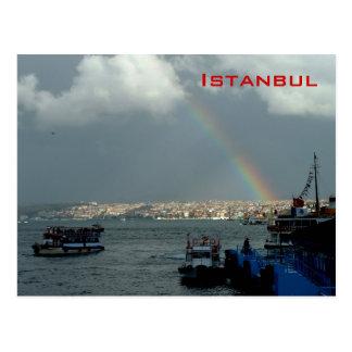 Postal Vista general de Estambul