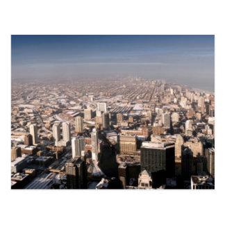 Postal Vista panorámica de la ciudad