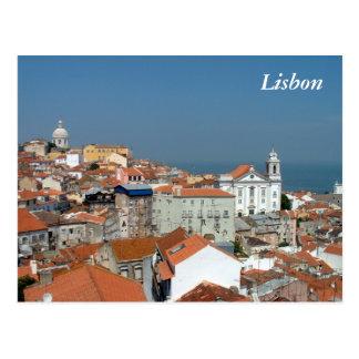 Postal Vista panorámica de Lisboa