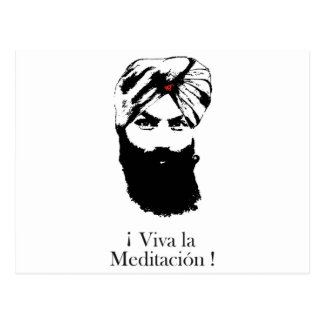 Postal viva_la_meditacion_hari_karan