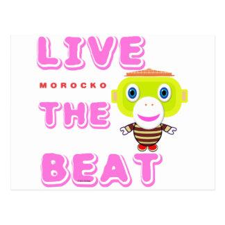Postal Vive el Mono-Morocko Golpe-Lindo