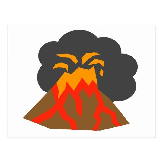 Resultado de imagen de volcan dibujo